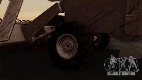 GTA 5 Combine para GTA San Andreas traseira esquerda vista