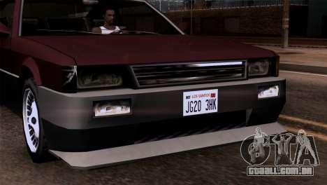 Novos faróis para GTA San Andreas terceira tela