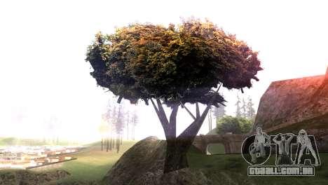 Vegetation Original Quality v3 para GTA San Andreas segunda tela