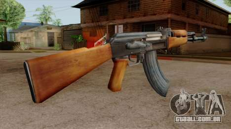 Original HD AK-47 para GTA San Andreas terceira tela