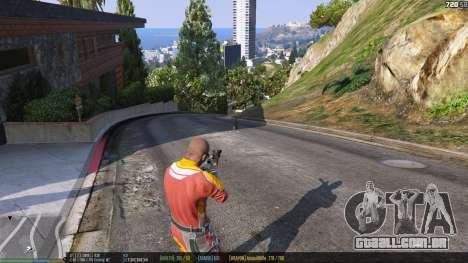 GTA 5 A barra de status v. 0.1 quarto screenshot