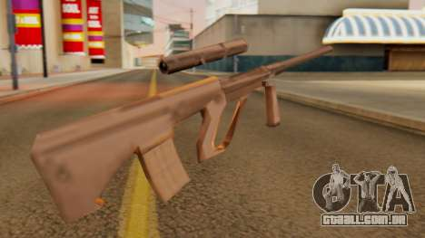 Steyr AUG from GTA VC Beta para GTA San Andreas segunda tela