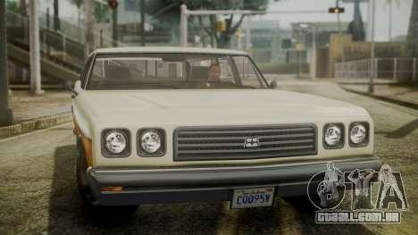 GTA 5 Dundreary Regina IVF para GTA San Andreas vista direita