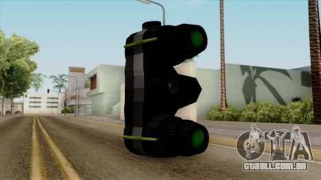 Original HD Thermal Goggles para GTA San Andreas