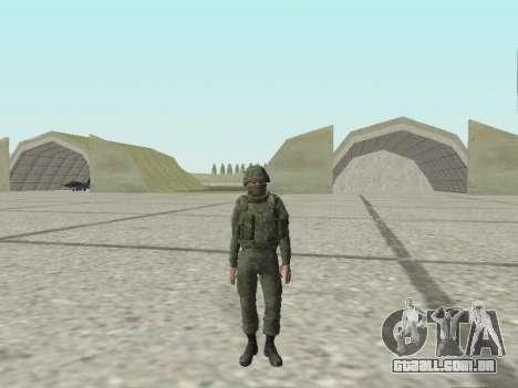Pak combatentes das tropas especiais de GRU para GTA San Andreas décima primeira imagem de tela