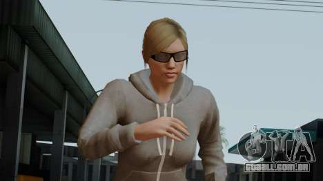 GTA 5 Online Female02 para GTA San Andreas
