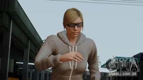 GTA 5 Online Female02 para GTA San Andreas