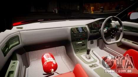 Nissan Silvia S14 Koni para GTA 4 vista de volta