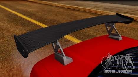 Nissan Skyline R34 Drift Monkey para GTA San Andreas vista interior