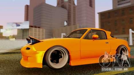 Mazda MX-5 BnSports para GTA San Andreas vista inferior