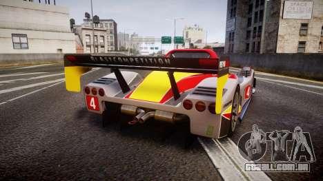 Radical SR8 RX 2011 [4] para GTA 4 traseira esquerda vista