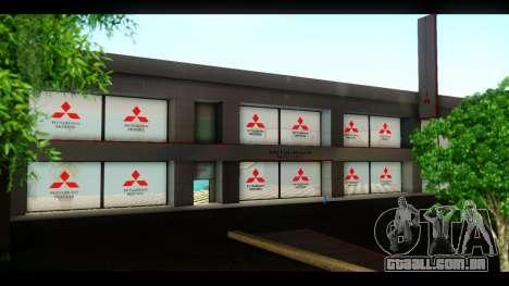 A Mitsubishi Motors Concessionária De para GTA San Andreas