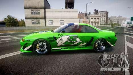 Nissan Silvia S14 JE Pistons para GTA 4 esquerda vista