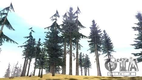 Vegetation Original Quality v3 para GTA San Andreas terceira tela
