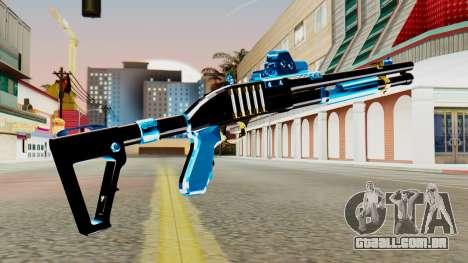 Fulmicotone Chromegun para GTA San Andreas segunda tela