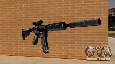 M4A1 UASS para GTA San Andreas