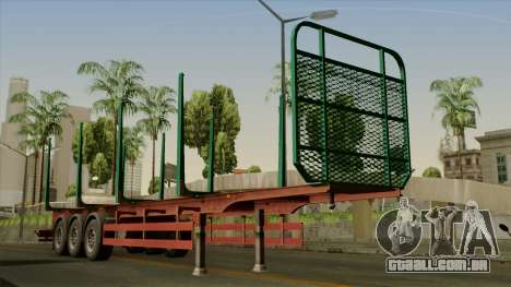 Trailer Cargos ETS2 New v1 para GTA San Andreas