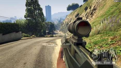 GTA 5 Battlefield 4 Famas quinta imagem de tela
