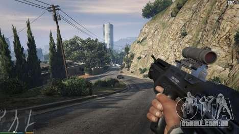 GTA 5 Carabina De Bulldog sexta imagem de tela