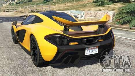 McLaren P1 2014 para GTA 5