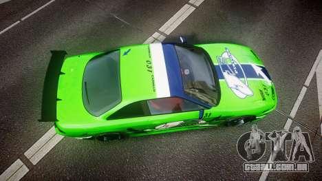 Nissan Silvia S14 JE Pistons para GTA 4 vista direita