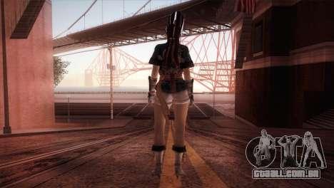 Momiji Kokoro DoA para GTA San Andreas terceira tela