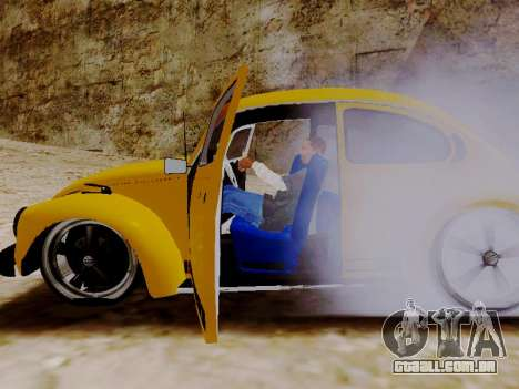 Volkswagen Fusca 1975 Jeans Edição Personalizada para GTA San Andreas