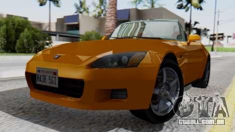 Honda S2000 Fast and Furious para GTA San Andreas
