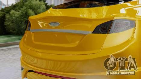 Ford Iosis para GTA San Andreas vista traseira
