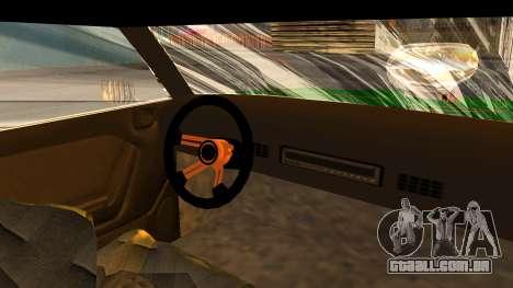 New Sabre Devil para GTA San Andreas traseira esquerda vista