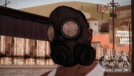 Mascara de Gas para GTA San Andreas terceira tela