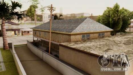 New Interior for CJs House para GTA San Andreas segunda tela