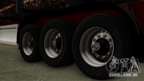 Trailer Fliegl v2 para GTA San Andreas traseira esquerda vista