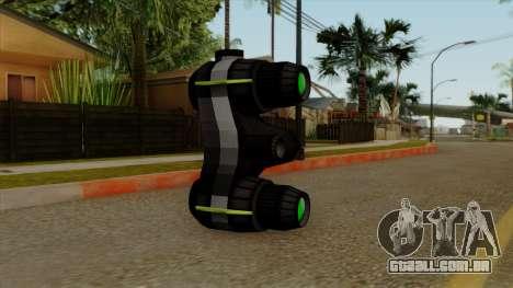 Original HD NV Goggles para GTA San Andreas