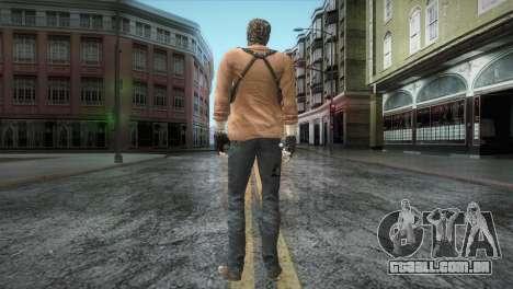 New Jhon Albert Wesker from Resident Evil para GTA San Andreas terceira tela