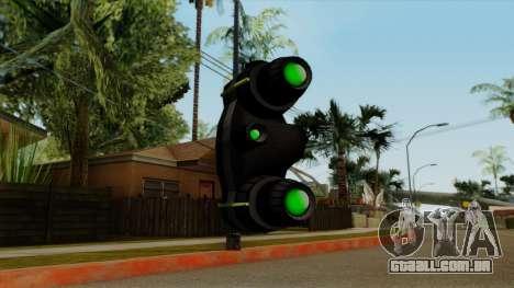 Original HD NV Goggles para GTA San Andreas terceira tela
