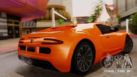 GTA 5 Adder Secondary Color para GTA San Andreas esquerda vista