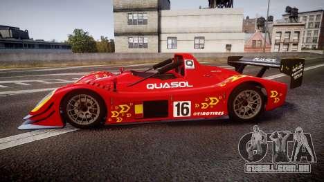 Radical SR8 RX 2011 [16] para GTA 4 esquerda vista