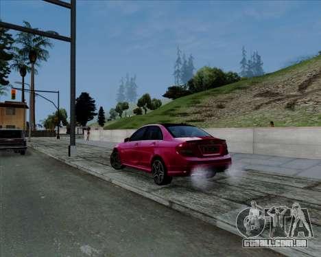 ENB Pizx para GTA San Andreas segunda tela