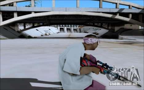 AWP Hyper Beast para GTA San Andreas por diante tela