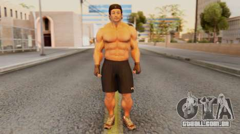 [GTA5] Bodybuilder para GTA San Andreas segunda tela