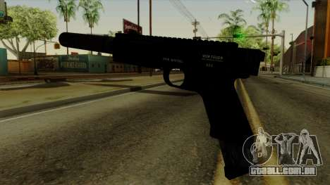 AP Pistol with Supressor para GTA San Andreas segunda tela