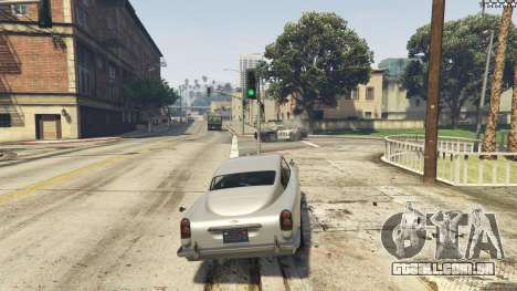 GTA 5 Trabalho gadgets no carro JB700 oitmo screenshot