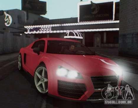 Herp ENB v1.6 para GTA San Andreas por diante tela