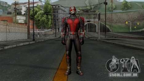 Ant-Man para GTA San Andreas segunda tela