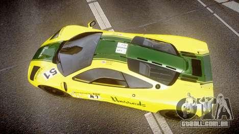 McLaren F1 1993 [EPM] Harrods para GTA 4 vista direita