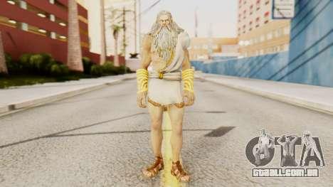 Zeus v2 God Of War 3 para GTA San Andreas segunda tela