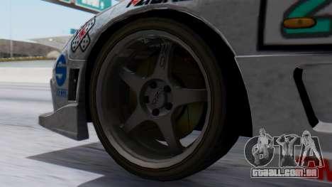 Mazda RX-7 Itasha para GTA San Andreas traseira esquerda vista