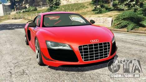 Audi R8 GT 2011 v0.5 [Beta] para GTA 5