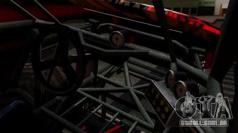 The Seventy Monster v2 para GTA San Andreas vista interior